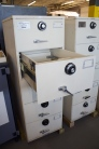 Pre Owned Mosler 5 Drawer GSA Class 6 Filing Cabinet Legal Size