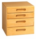AMSEC StorIt Four-Drawer Cabinet Chest