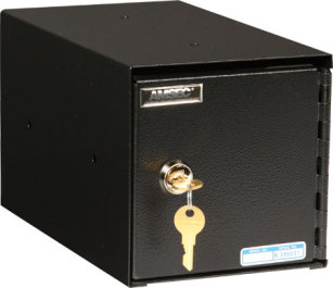 Small Under Counter Drop Safe By Amsec Tb0610 1 Lackasafe