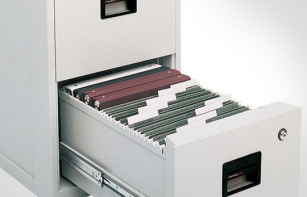 Sentry Safe 2 Drawer Office Fire File 6000
