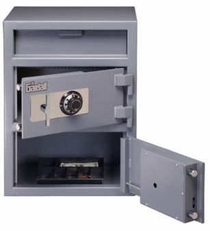 Gardall Double Door Drop Safe LCF2820-G-CC Light Commercial Duty
