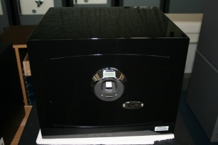 Biometric Fingerprint Safe by Amsec Showroom Model