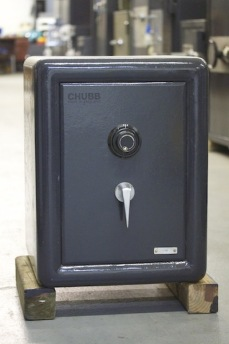 Small Antique Chubb Safe
