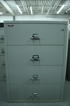Used FireKing 4 Drawer Lateral Filing Cabinet