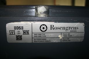 3620 Rosengrens TRTL30X6 Equivalent High Security Safe