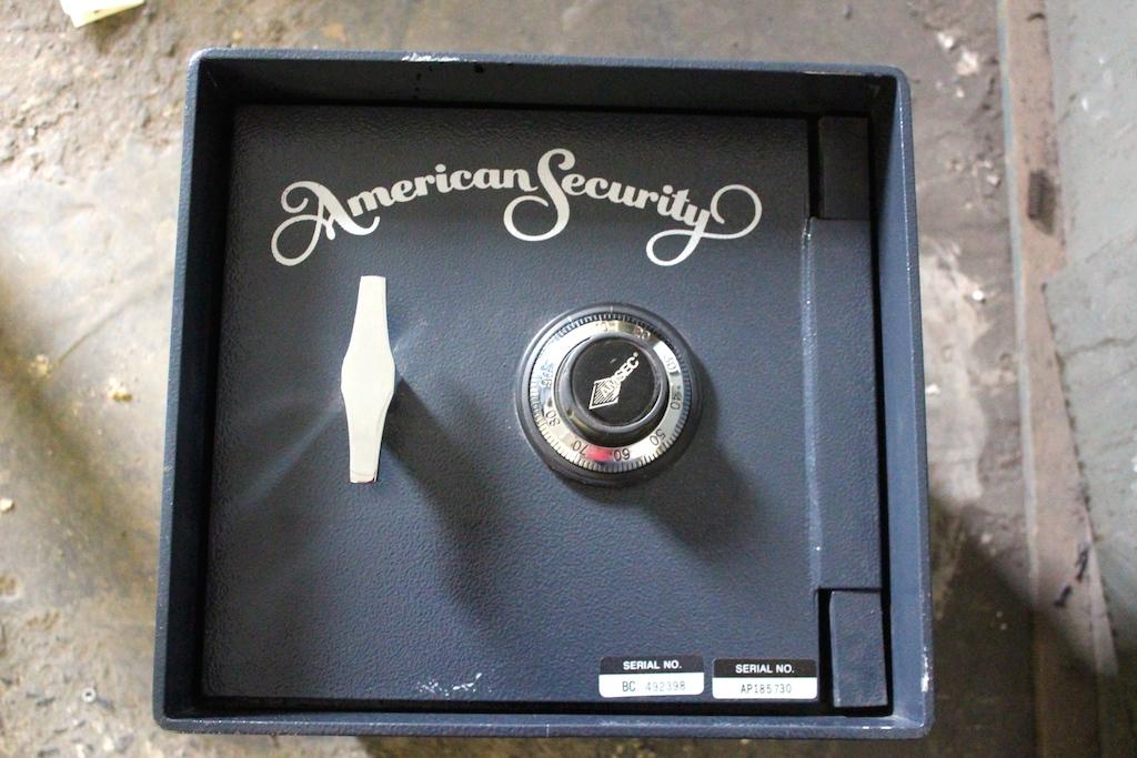 american security floor safe b2200 showroom model safe - Floor Safes