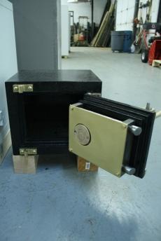 Used Antique Mosler Coffer Safe