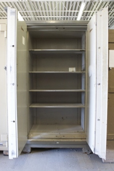 Used Large Mosler 4 Hour Class A Double Door Fire Safe