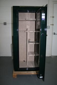 Used Fort Knox Maverick Gun Safe 6026 Forest Green